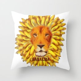 Banarnia (alt) Throw Pillow