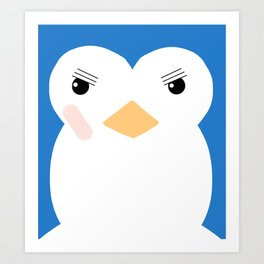 Penguin 1 Art Print