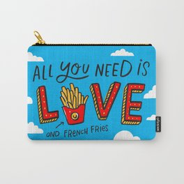 Love and French Fries Carry-All Pouch