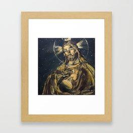 I am the light of the world Framed Art Print