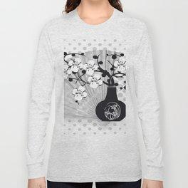 Stillleben Kirschblüten Long Sleeve T-shirt