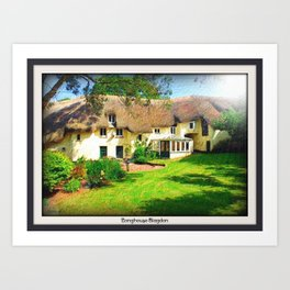 Devon Long House 2 Art Print