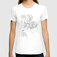 mermaids T-shirts featuring Mermaids by Coily and Cute