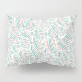 Cool Colorful Ocean Waves Pillow Sham