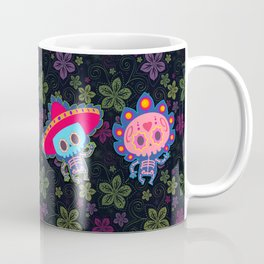 day of the dead couple Coffee Mug