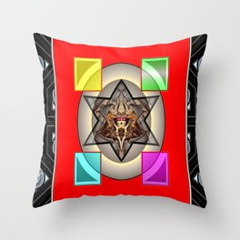 *Transcending Stars* Throw Pillow