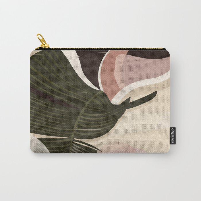 Nomade I. Illustration Carry-All Pouch