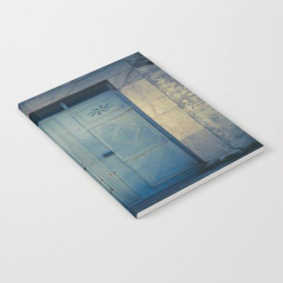 Blue Door II Notebook