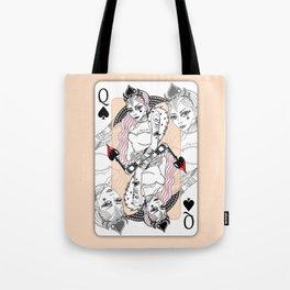 Queen Of Spades Tote Bag