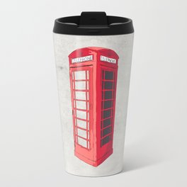 Oxford Phone Booth Travel Mug