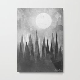 Pacific Fog Metal Print