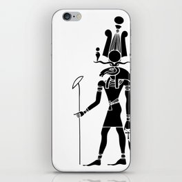 Khensu - God of ancient Egypt iPhone Skin