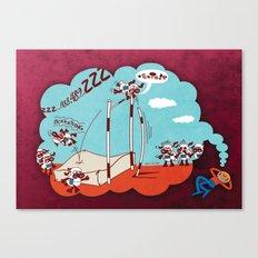 Chronic Insomnia Canvas Print