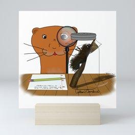 Homeschooling Oliver The Otter - The Caterpillar Mini Art Print