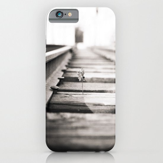 railroad flower  iPhone & iPod Case