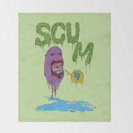 Scum Throw Blanket