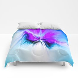 Abstract Moving Butterfly Design Comforters
