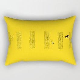 Private spaces Rectangular Pillow