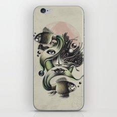 Fish Tale iPhone & iPod Skin
