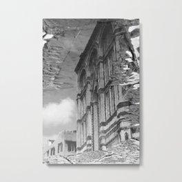 narcissistic duomo black and white Metal Print