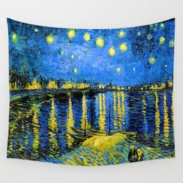 Van Gogh Starry Night Over the Rhone Wall Tapestry