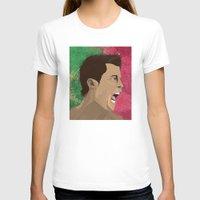 ronaldo T-shirts featuring Cristiano Ronaldo by Pastran Designs