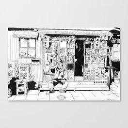 tokyo drinker Canvas Print