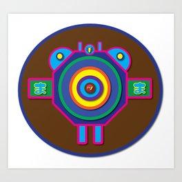 Fly   Minimoshi Series Art Print