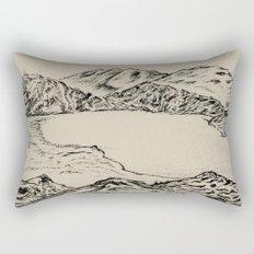 lake topeka australia Rectangular Pillow