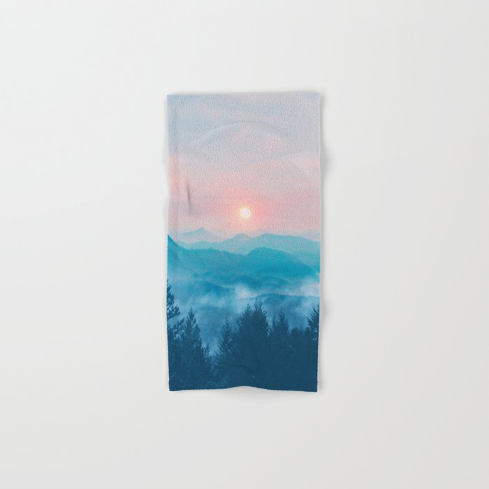 Pastel vibes 12 Hand & Bath Towel
