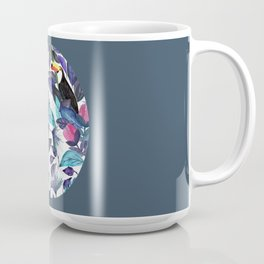 In the Leaves with a token and a parrot  Coffee Mug