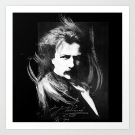 Polish Lion - Ignacy Jan Paderewski Art Print