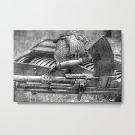 WW2 Bren Gun Vintage Metal Print