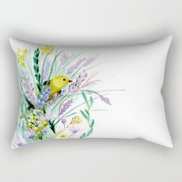 Summer Gold Rectangular Pillow