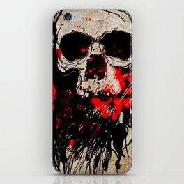 Blood Skull iPhone Skin