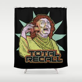 Total Recall Shower Curtain