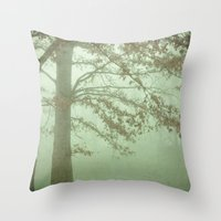 illusion Throw Pillows featuring Illusion by Olivia Joy StClaire