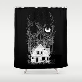 Horror house Shower Curtain