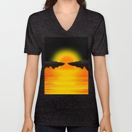 ABstraction Unisex V-Neck