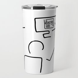 web designer graphic artist Travel Mug