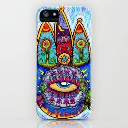 Hamsa  (Hand of Fatima) iPhone Case