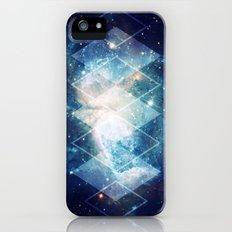 Shining Nebula - Blue Slim Case iPhone (5, 5s)