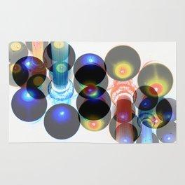 lightpost planets Rug
