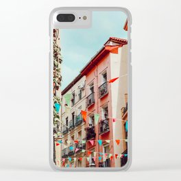 The hidden streets of Barcelona Clear iPhone Case