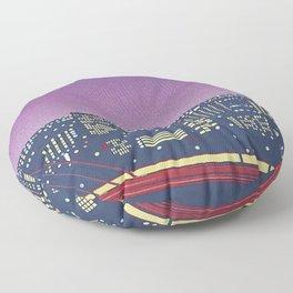 Hiroshi Nagai Vaporwave Shirt Floor Pillow