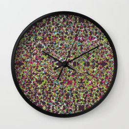 Raisin Explosion Wall Clock
