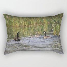 Canadian family Swim day Rectangular Pillow