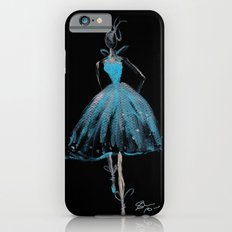 Blue and Light Haute Couture Fashion Illustration iPhone 6s Slim Case