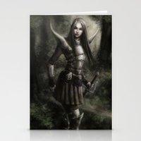 elf Stationery Cards featuring Elf by Gyossaith