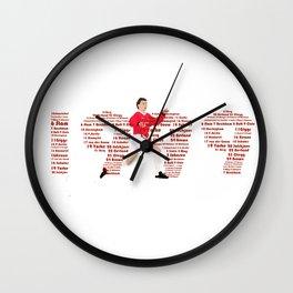 OLE TREBLE HERO Wall Clock